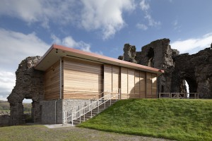 Denbigh Castle Visitor Reception Building - Case Study
